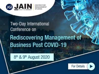 Conference on Rediscovering Management of Business Post COVID19