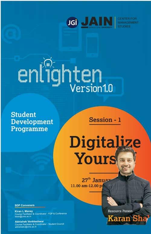 Enlighten version 1.0 session-1