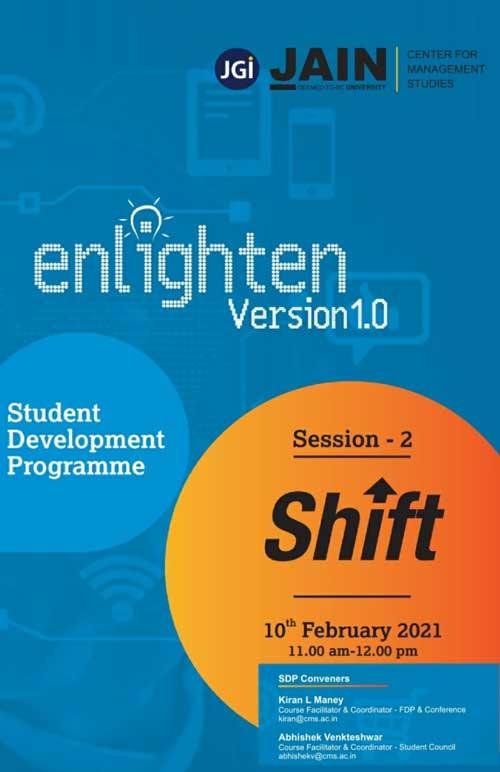 Enlighten version 1.0 session-2