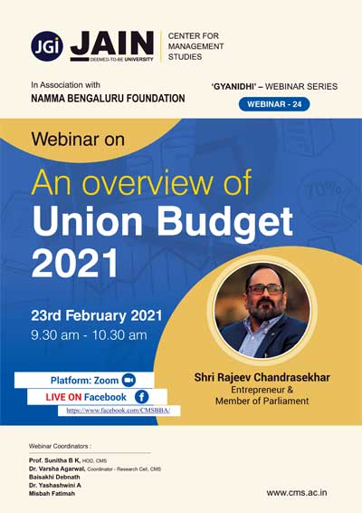 An Overview of Union Budget - 2021