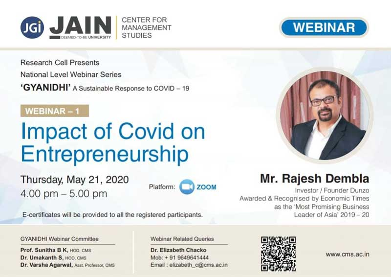 Impact of COVID on Entrepreneurship