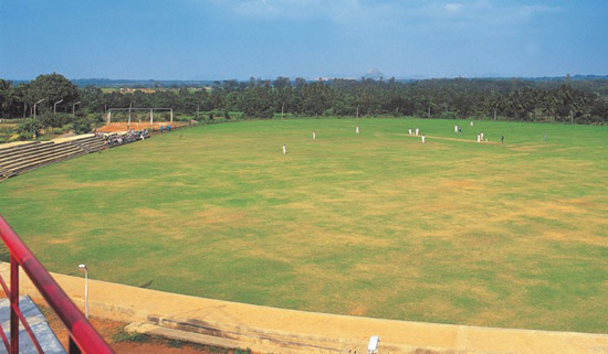 best international cricket stadium in karnataka